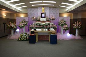 仏式葬儀のしつらえ