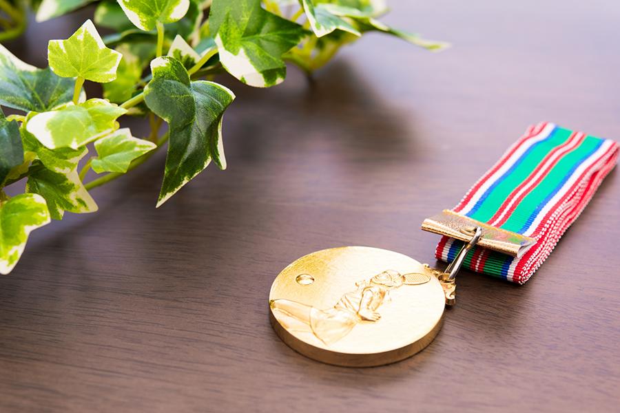 人生に金メダル