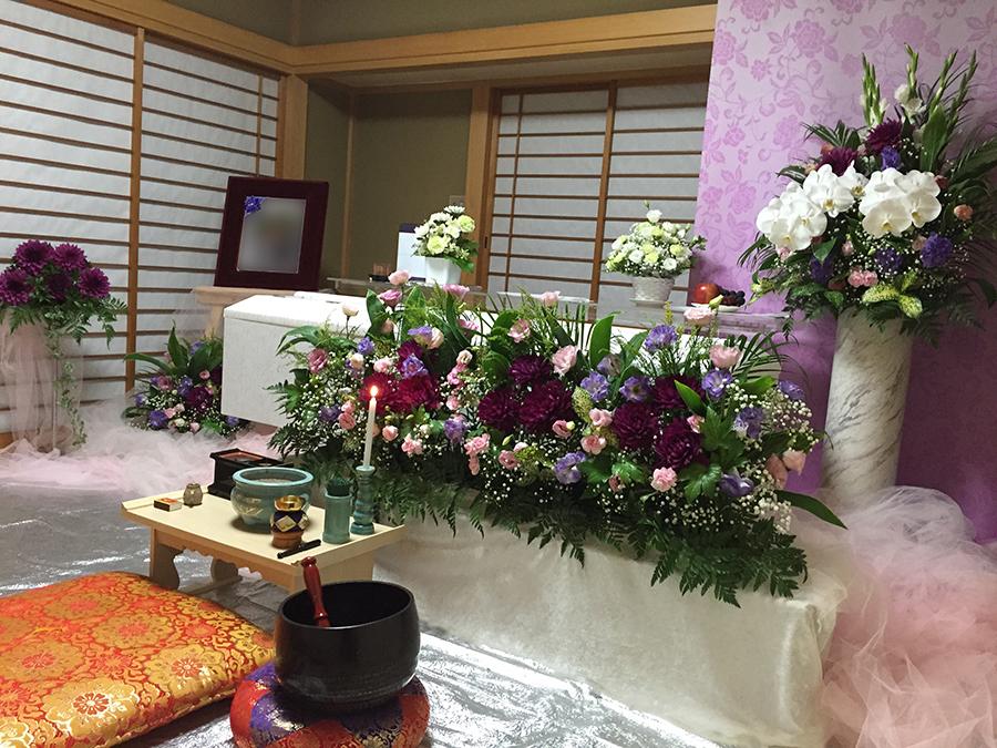 自宅葬を考える