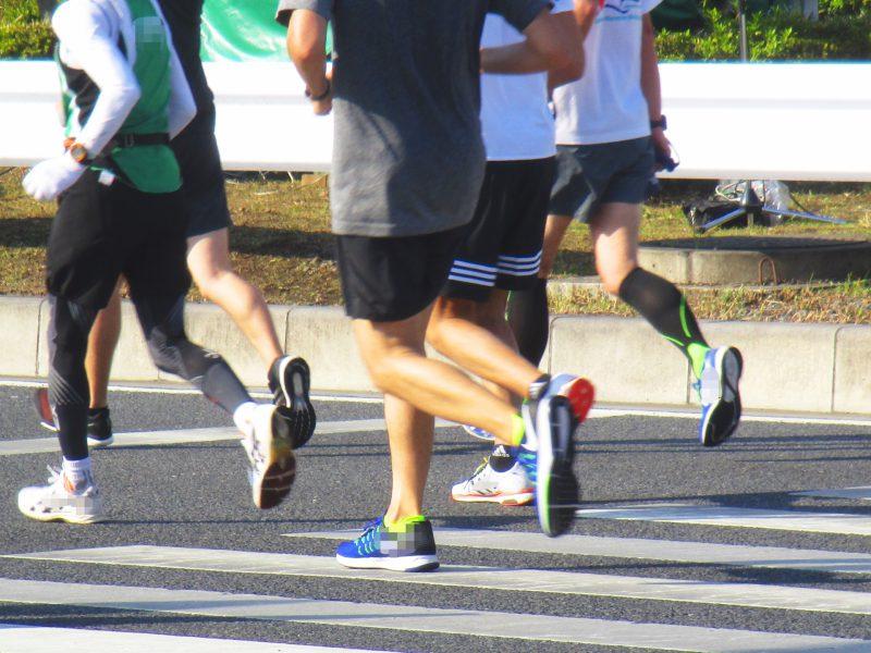 ある日のマラソン大会
